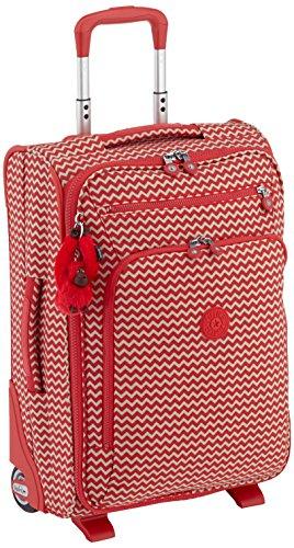 Kipling - Youri 55 - 31.0 litres- Trolley Chevron Red