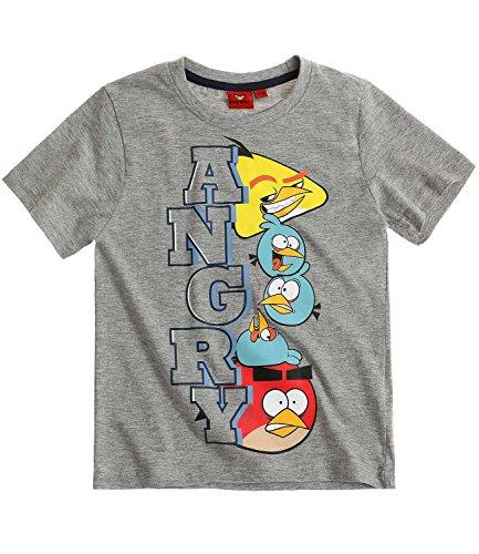 Angry Birds Ragazzi Maglietta manica corta - grigio - 152