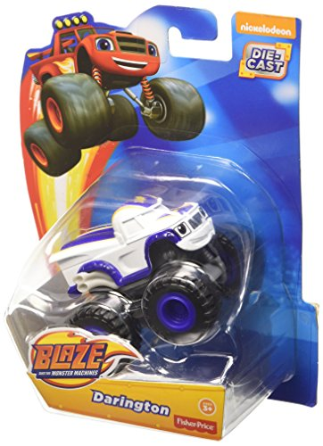 Fisher-Price Blaze and the Monster Machines Diecast Vehículo - Darington