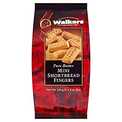 Walkers Pure Butter Mini Shortbread 125g