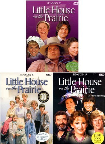 Little House on the Prairie - The Complete Seasons 7, 8 ,9 (3 Pack) (On The House Little Prairie-film)