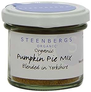 Steenbergs Organic Pumpkin Pie Mix 40 g (Pack of 3)