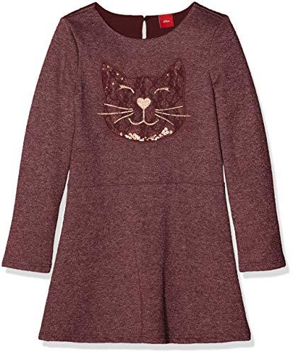 Deep Purple Dress (s.Oliver Junior Mädchen 53.810.82.2879 Kleid, per Pack Violett (deep Purple Multicolored 49S0), 104 (Herstellergröße: 104/REG))