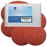 40 Schleifscheiben für Bosch GEX 125-150 AVE Professional Exzenterschleifer Körnung 240 (V fein)