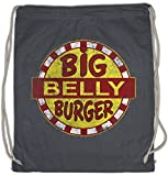 Urban Backwoods Big Belly Burger Turnbeutel Fast Food Restaurant Chain Comics Comic