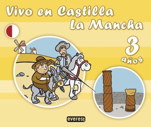 Vivo en Castilla La Mancha. 3 años - 9788424111861