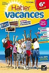 Cahier de vacances de la 6e vers la 5e - Hatier Vacances: Révisions toutes matières