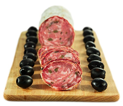 Salame alle Olive 500 gr. - Salumificio Artigianale Gombitelli - Toscana