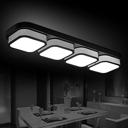 XMZ Kronleuchter hängende Licht Deckenleuchten für Flur, Schlafzimmer, Küche, Kinderzimmer, Bügeleisen leuchten, 430/860 * 230 mm 4-Leiter - 4 Licht Kronleuchter Flur
