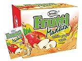 Frutti Instant Getränkepulver ohne Zucker - Geschmackrichtung: Madeira weiße Traube mit Apfel 24er Packung