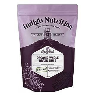Indigo Herbs Organic Brazil Nuts 1kg
