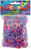 Rainbow Loom Official Mermaid Mix Rubber Bands Refill 600 count + 24 C-clips
