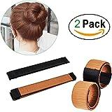 2PCS-Perücke Haarknoten diskmaker/Haar Donut/Dutt Hairpiece Bob Maker Werkzeug Haar