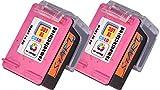Start - 2 XL Ersatz Tintenpatronen kompatibel zu HP 301XL Farbe dreifarbig - Druckerpatronen mit hoher Reichweite