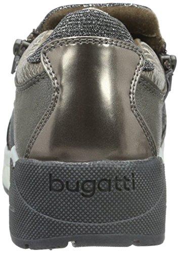 Bugatti - J8363pr6n, Scarpe da ginnastica Donna Grigio (tortora 182)