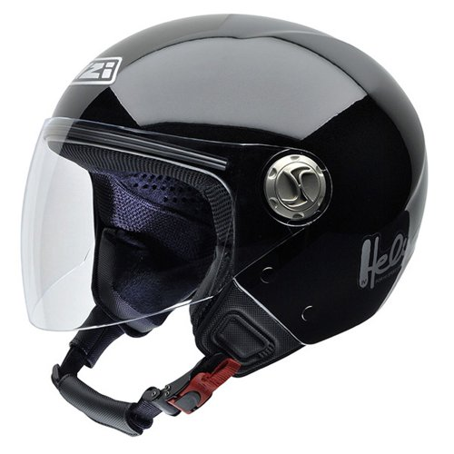 NZI 050258G260 Helix IV Metal BTMN Casco de Moto, con Bluetooth, Talla XS