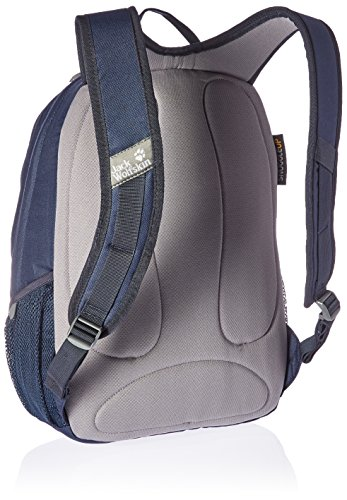 Jack Wolfskin Unisex Perfect Day Rucksack midnight blue geometric leaves