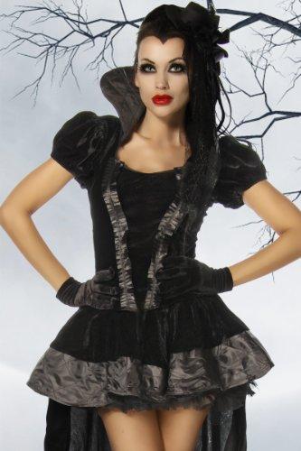 heißes Gothic Vampir Kostüm Größe L (Vampire Rock)