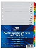 TSI 65521-Rubrica con linguette A-Z folienverstärkten
