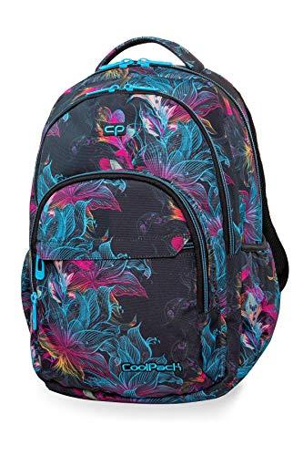 Prime Schulrucksack Rucksack 27 L Basic Bag Backpack Vibrant Bloom Lebhafte Blüte [006]