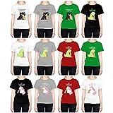 Head Case Designs Regenbogenkotze Damen-Shirt