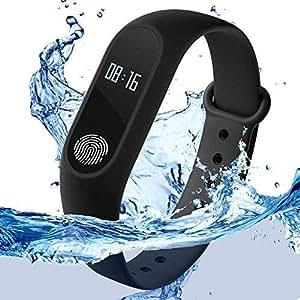 HOLME'S M3 Intelligence Bluetooth Health Wrist Smart Band Watch Monitor/Smart Bracelet/Health Bracelet/Smart Watch for Mens/Activity Tracke/Bracelet Watch for Men/Smart Fitness Band