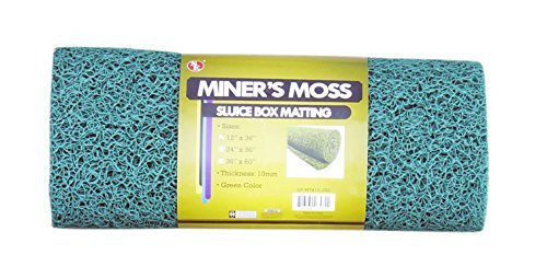 SE GP-MT415-2GG 12 x 36 Miner's Moss (Sluice Box Matting) in Green by SE