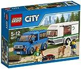LEGO 60117 City Great Vehicles Van and Caravan Building Toy