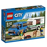 #8: Lego Van and Caravan, Multi Color