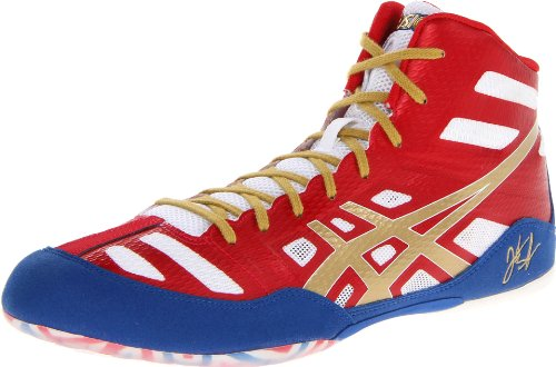 Herren Kunstleder True Gold Oly Red White Elite Turnschuhe Jb Asics tAv7q8Et