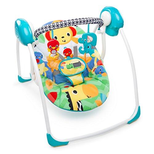 Bright Starts/Kids II 60403 Altalena Portatile Classica, Multicolore