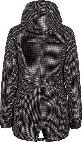 Ragwear Laika Minidots Jacket Navy Black