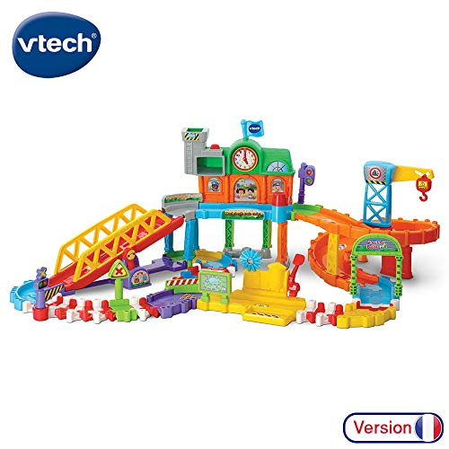 VTech - Tchou Tchou Bolides - Maxi circuit train twist - Circuit de train interactif (521205)