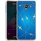 Samsung Galaxy A3 (2016) Housse Étui Protection Coque Avion Voyage Vacances