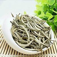 100g (0.22LB) Aguja de plata, té blanco, té Baihaoyinzhen punta blanca, aguja de plata, té, punta de plata, pekoe, té, árbol viejo, comida orgánica natural, té, comida verde, té crudo, Sheng, cha, té chino
