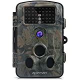 "APEMAN Wildkamera 1080P Full HD Jagdkamera 120°Breite Vision Infrarote 20m Nachtsicht 2.4"" LCD Überwachungskamera"