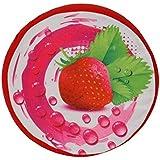 GillBerry Divertido Creativo 3D Cojín Almohada fruta Amortiguador de la felpa juguetes de frutas Regalo de cumpleaños (D)