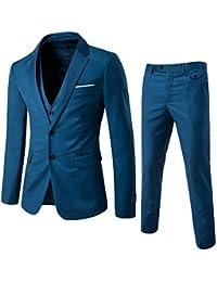Allthemen Costume Hommes 3 Pcs De Mariage Party Costumes Blazer Gilet  Pantalon 69cbdcb73ed