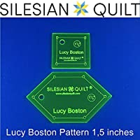 template for Patchwork???Lucy Boston pattern 1,5?inches