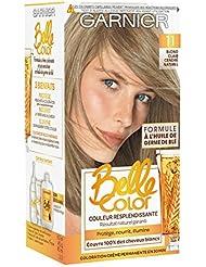 Garnier - Belle Color - Coloration permanente Blond - 11 Blond clair cendré naturel Lot de 2