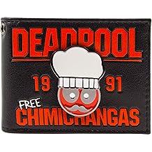 Cartera de Deadpool Chef 1991 flautas gratuitas Negro
