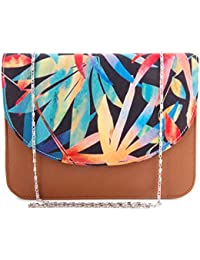 ShopMantra Women Multi-Color Leather Sling Bag