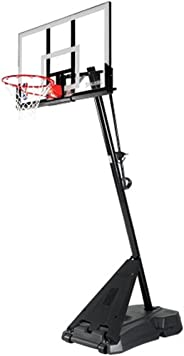 Spalding 54 Inch NBA Gold Basketball System (Multi Color)