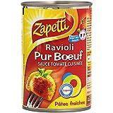 Zapetti Pâtes Fraîches Ravioli Pur Boeuf 400 g