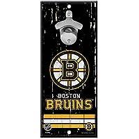 WinCraft Boston Bruins NHL Schild mit Flaschenöffner