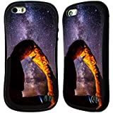 Official Darren White Jackson Lake Milky Way Heavens Hybrid Case for Apple iPhone 5 / 5s / SE