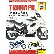Haynes Manuel Triumph Triples 2162 & Fours 91-04 Moteurs Carb