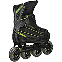 Tour Hockey Code-9 Juventud Hockey Sobre Patines en línea Ajustable, Medium (1-4), Negro