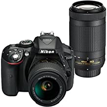 Nikon D5300 24.20 Megapixels Digital SLR Camera Dual Lens Kit