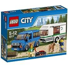 LEGO City Great Vehicles 60117 - Furgone e Caravan